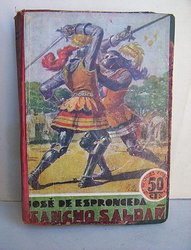 sancho saldaña  novela histórica jose de espronceda