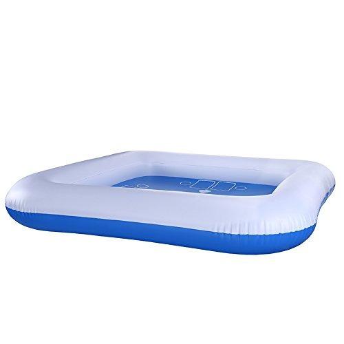 sandalas piscina inflable al aire libre float jugando silla