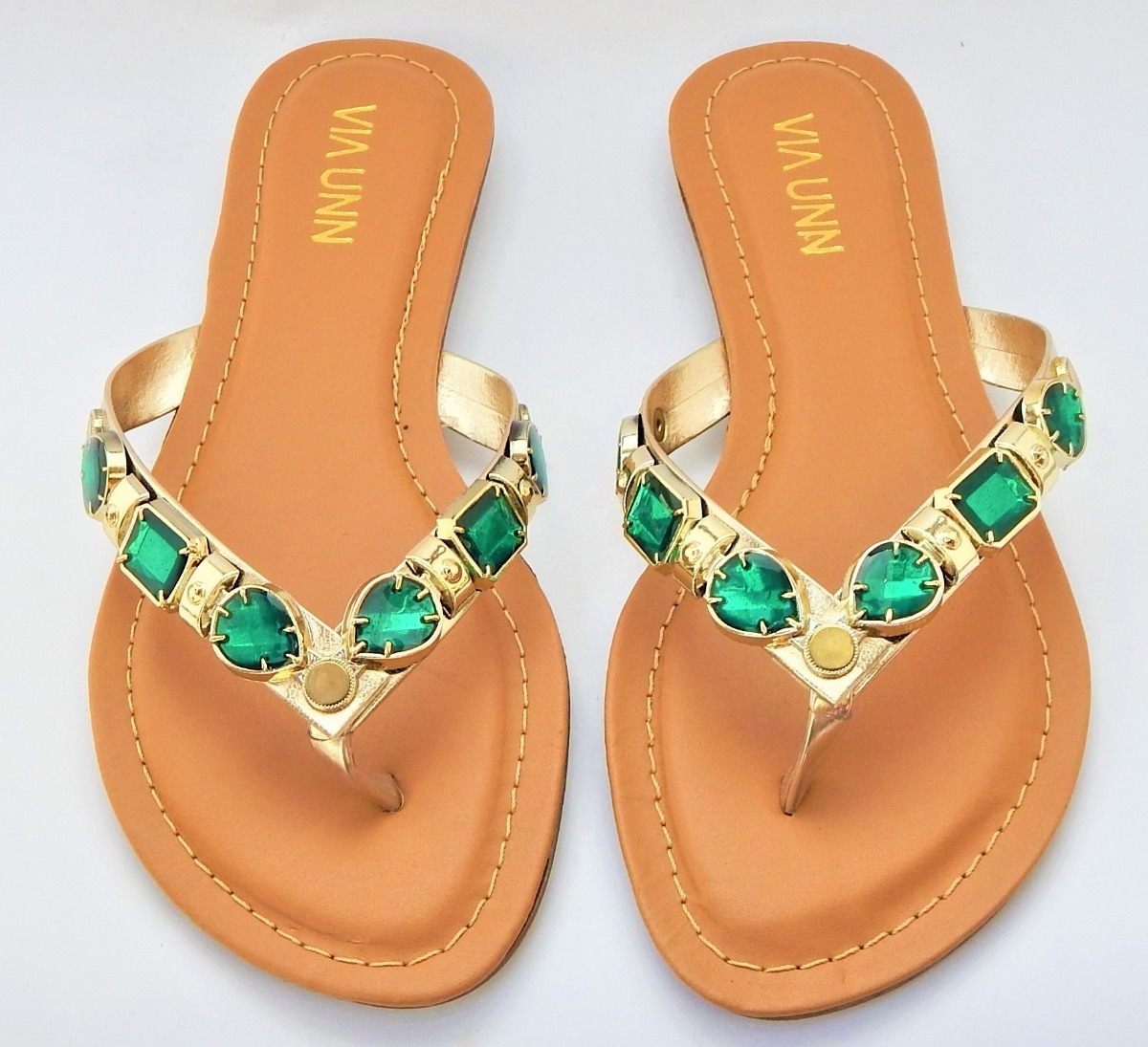 1176f0589 sandália 40 feminina rasteira luxo lançamento oferta. Carregando zoom.