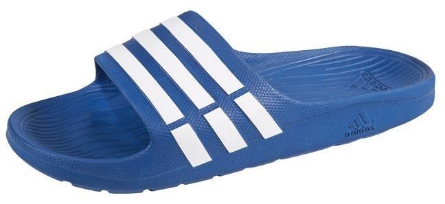 premium selection 51792 d7d3e sandalia adidas natación duramo slide azul hombre 151572