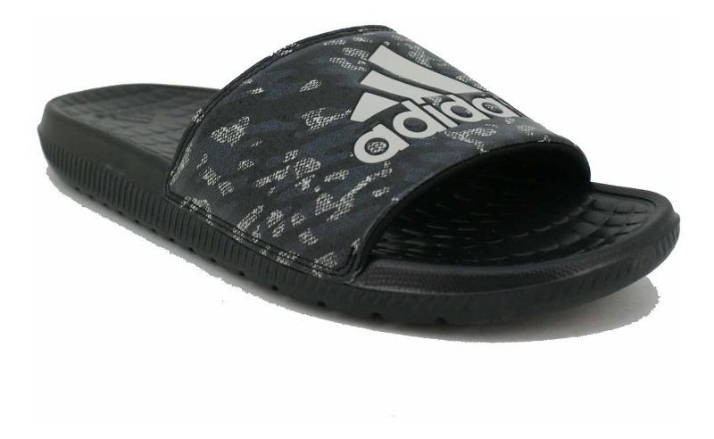 Sandalia adidas Voloomix Estampado Negro Hombre Deporfan