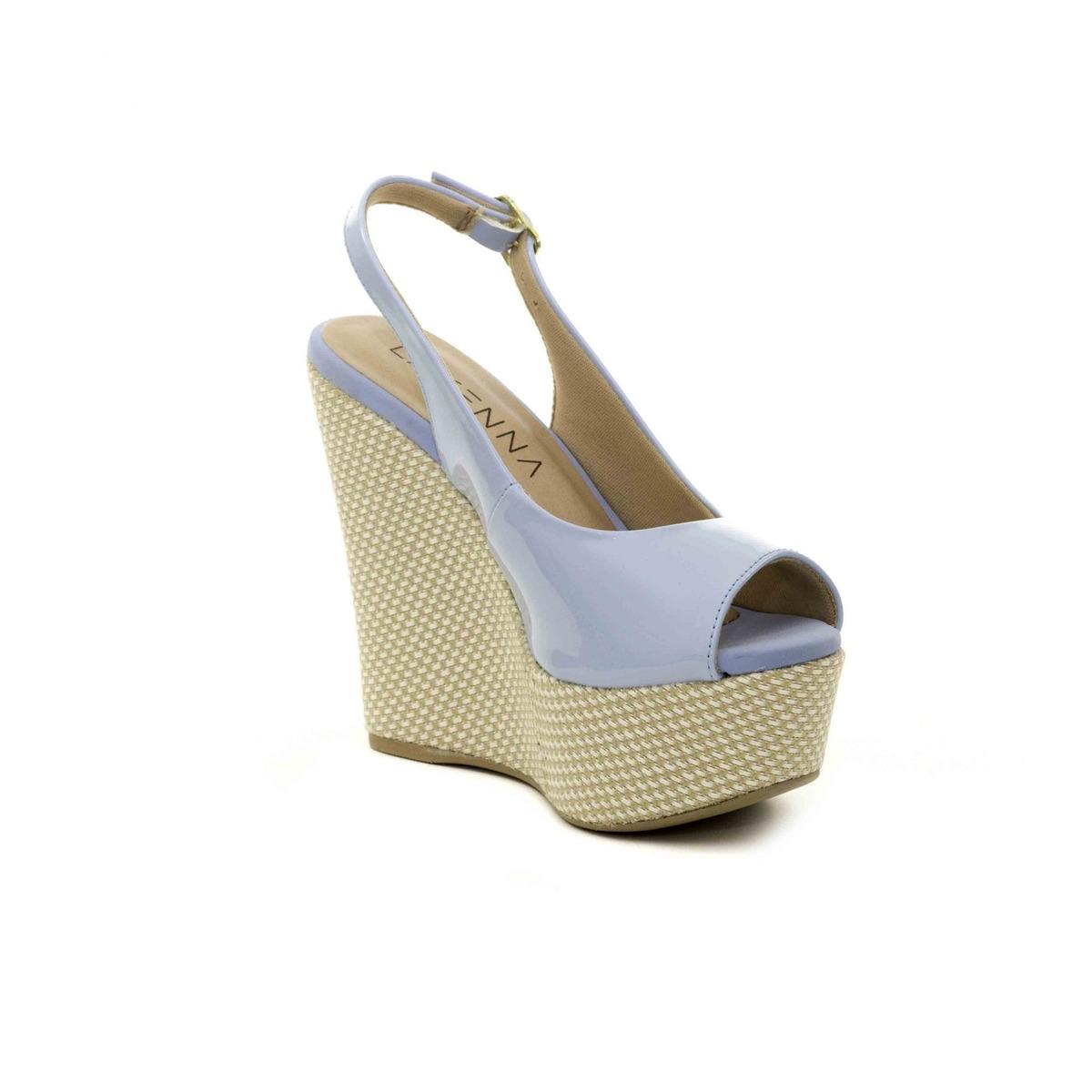 8faad7f38 sandália anabela alta feminina lasenna promoção 50% desconto. Carregando  zoom.