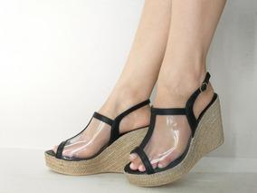 22f0e9197 Sandalia Anabela Transparente - Calçados, Roupas e Bolsas no Mercado ...