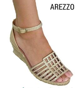 e9e763abf Arezzo Anabela 34 Laranja - Sapatos com o Melhores Preços no Mercado Livre  Brasil