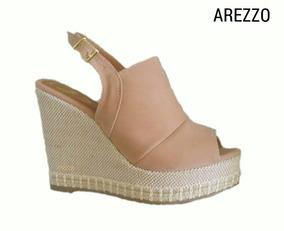 b93cbf039 Sandalia Arezzo Anabela Promocao - Sapatos com o Melhores Preços no Mercado  Livre Brasil