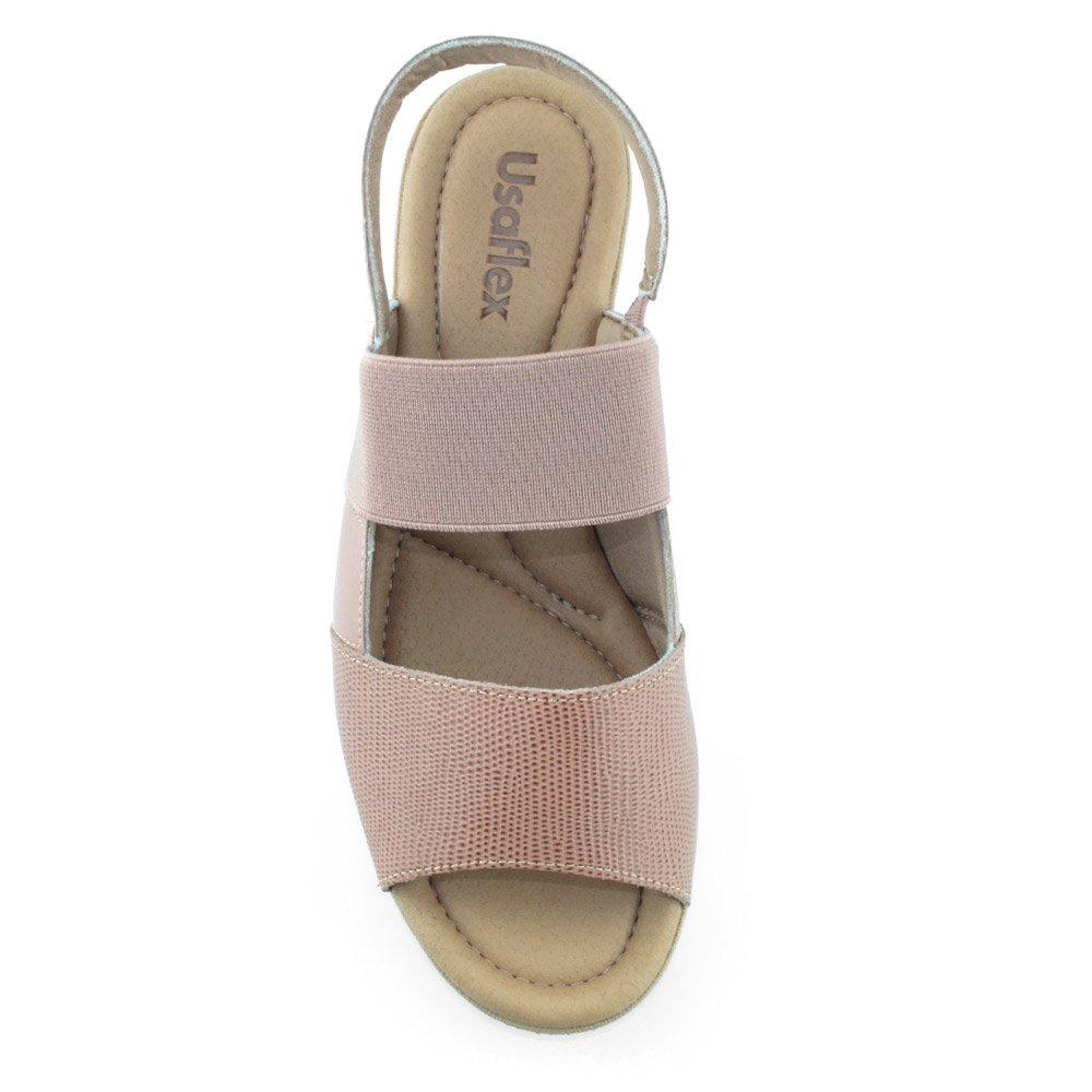 d6f2137069 sandália anabela confortável usaflex p5157 - cirandinha. Carregando zoom.