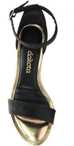 c2ff935bfc Sandália Anabela Dakota Z1291 - Preto - R  157