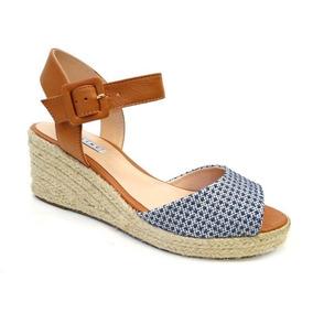 7323904d9 Sand Lia Anabela Azul - Sapatos no Mercado Livre Brasil