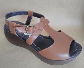44e0924d2c Anabela Couro E Barbante Da Aquamar Nº 36 - Sapatos no Mercado Livre ...
