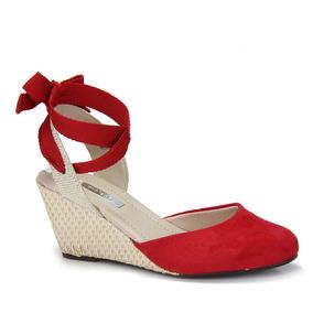 50813fdcc1 Anabela Espadrille Amarraçao Moleca - Sapatos no Mercado Livre Brasil