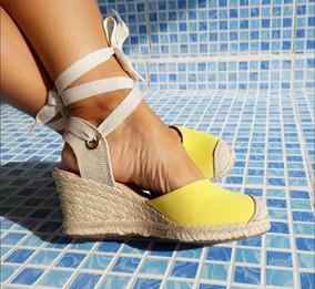 a1f8dd3ad Sandalia Espadrille De Amarrar - Sapatos no Mercado Livre Brasil