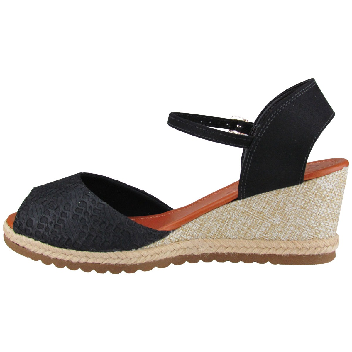 84be7e1aa sandália anabela feminina bebecê 5814541. Carregando zoom.