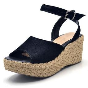 0a6915718 Sandalia Anabela Salto Tipo Corda Da Grife Prego Tam 37 - Sapatos no ...