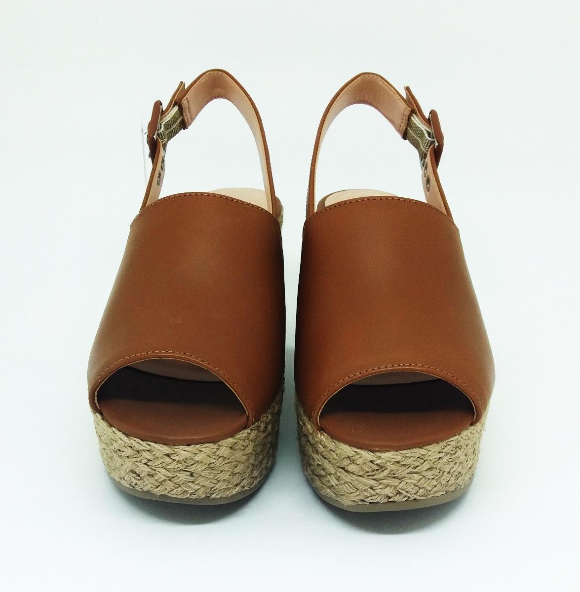961edb581 sandália anabela feminina tamanco caramelo lialine 9010. Carregando zoom.