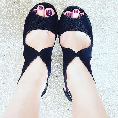 3246f93fb9 sandália anabela plataforma feminino inspiração moda 322. Carregando zoom...  sandália anabela feminino