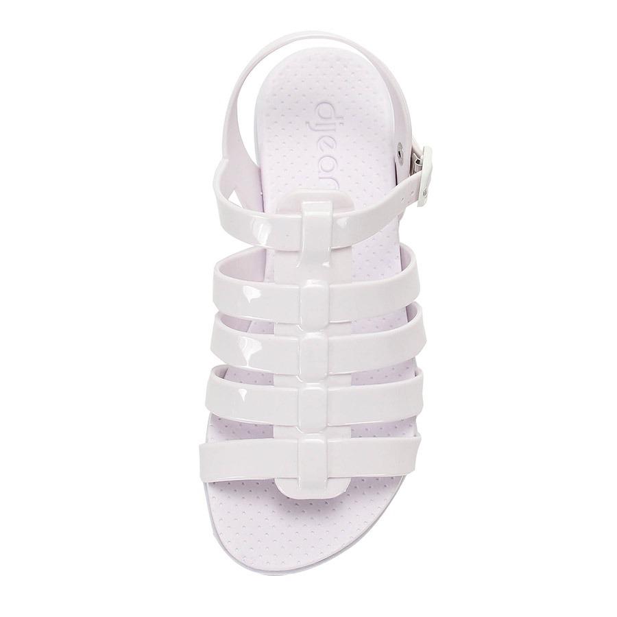 ad428ef516 sandália anabela flatform dijean - branco. Carregando zoom.