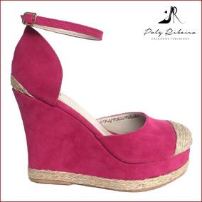 4fdaa1ab1d5f Sapato De Salto Fechado Rosa Pink - Calçados, Roupas e Bolsas com o ...
