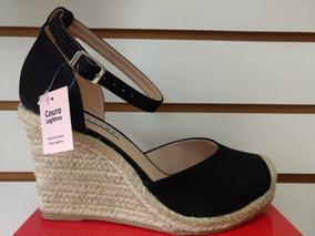 46e9ff4ee Sandália Anabela Da Lia Line Feminino - Sapatos no Mercado Livre Brasil