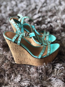 f5ee8be98 Sandalia Schutz Anabela Outras Marcas - Sapatos no Mercado Livre Brasil
