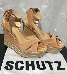 91290696a Sandalia Marrom - Sandálias Schutz para Feminino no Mercado Livre Brasil