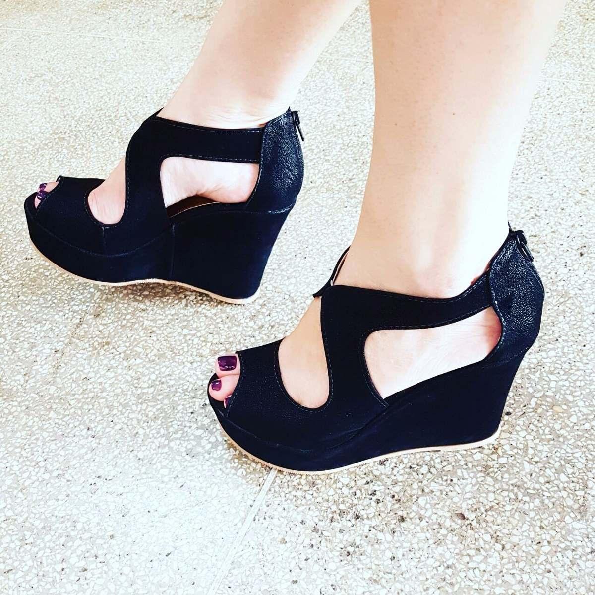 79de480ee1 sandália anabela plataforma feminino inspiração moda 322. Carregando zoom.