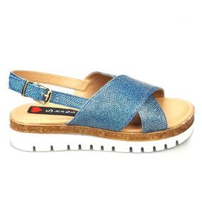 23fda6f729 Calças Jeans Colombiano Anabela - Calçados