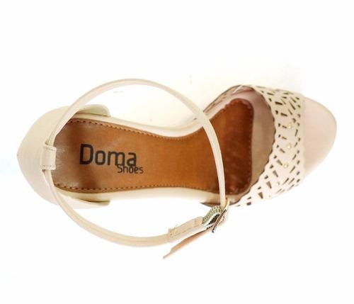 sandália anabela shoes