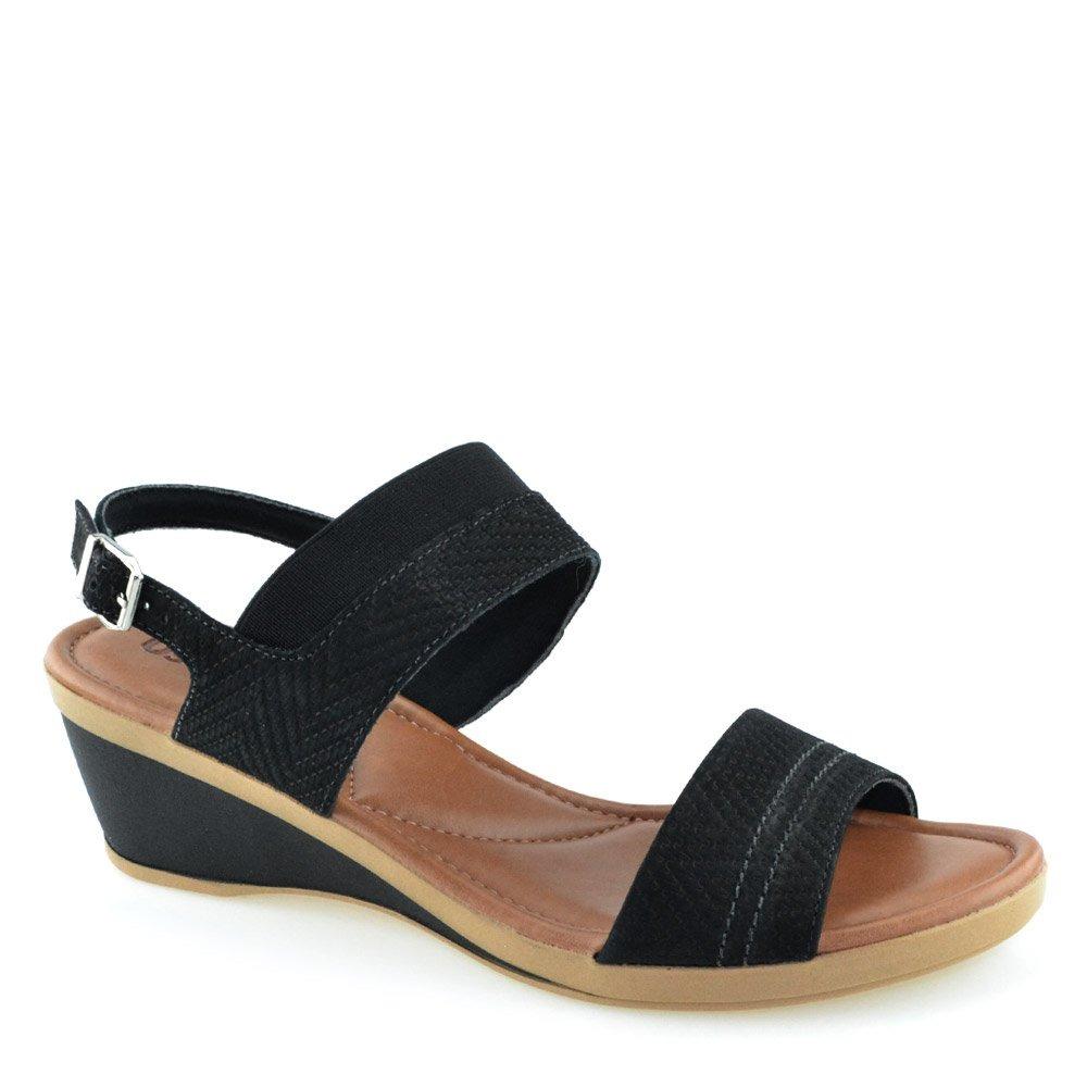 b8422c4846 sandália anabela usaflex u5541 - cirandinha. Carregando zoom.