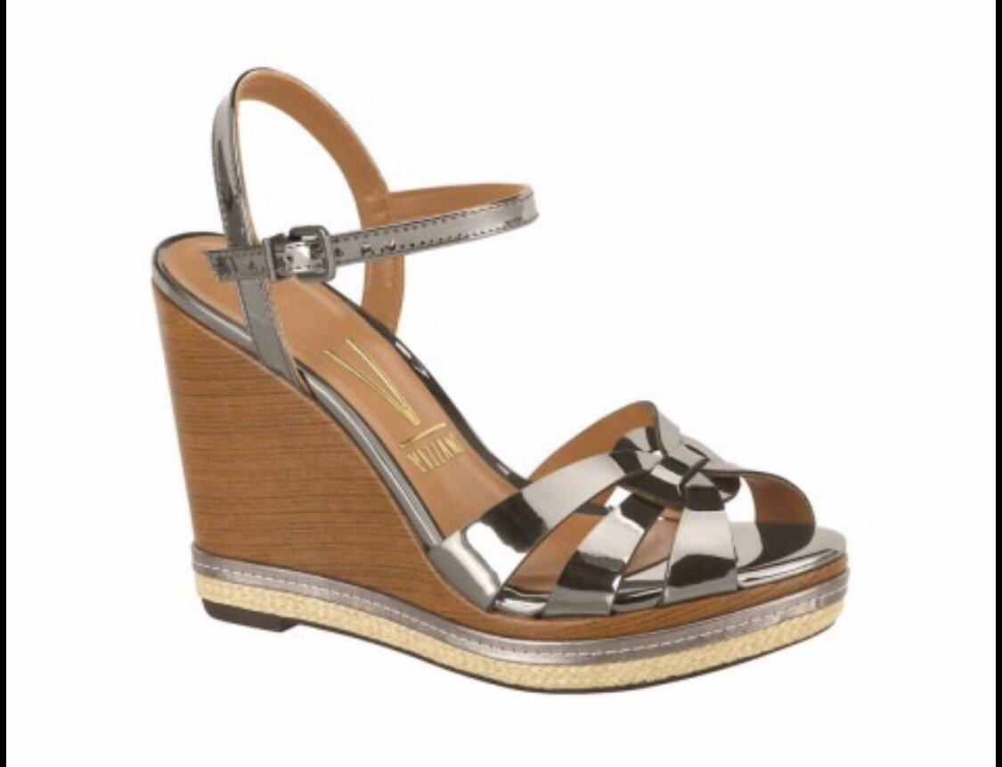 cc2ec57ce0 sandália anabela vizzano preço promocional 6283225. Carregando zoom.