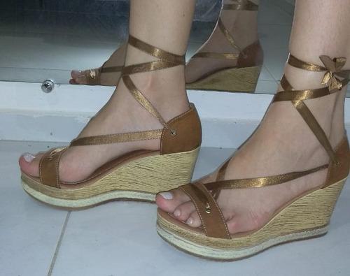 sandália anabele de amarração