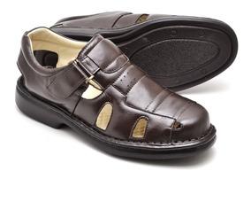 9b4dcac3d Sandalia Idosa Antiderrapante - Sapatos com o Melhores Preços no Mercado  Livre Brasil