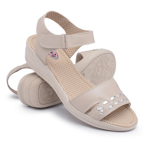 46fe47cc7b Linda Sandalia - Pontal - Mulher Feminino Anabela - Sapatos no ...