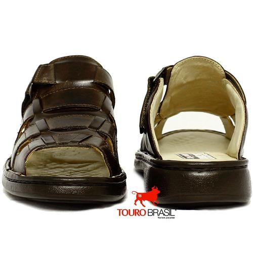 sandalia antistress ortoped diabeticos couro pelica carneiro