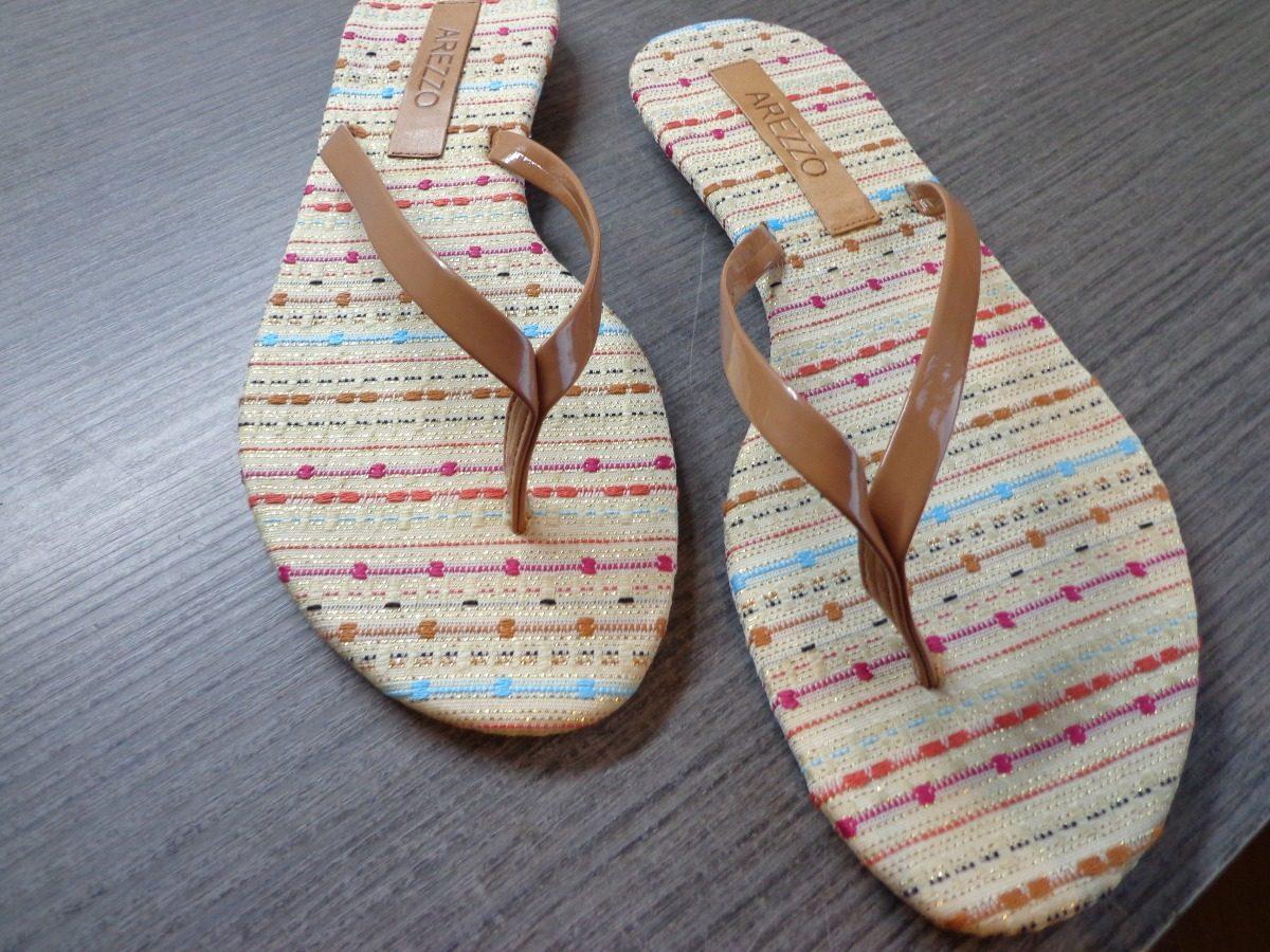 76c2bc696b sandália arezzo original promoção rasteirinha. Carregando zoom.