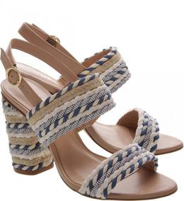 d7998858a Arezzo Salto Bloco Amaro Sandalias - Sapatos no Mercado Livre Brasil