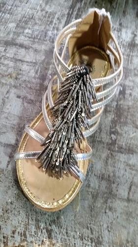 sandalia artesanal de dama lote de 6 pares, varios modelos