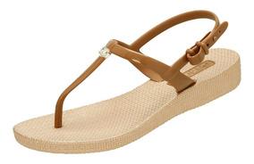 10b828b7d Rasteirinha Spike Grazi Massafera Azaleia Sandalias - Sapatos com o ...