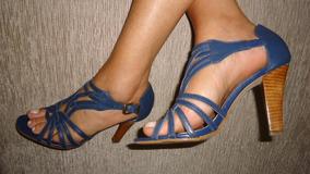 aede8c1b3d Sandalia Salto Prego 37 - Sapatos no Mercado Livre Brasil