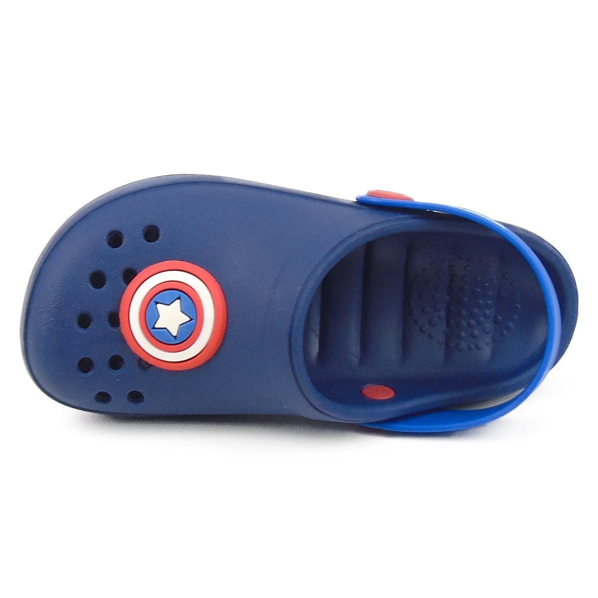 4a7cea5e01 sandália babuch grendene avengers capitão américa 21859. Carregando zoom.