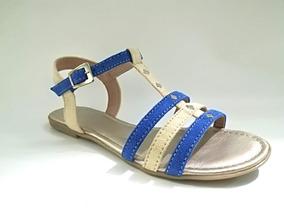 367197622e Sandalias Plateadas Bajas Con Strass - Zapatos Mujer en Mercado ...