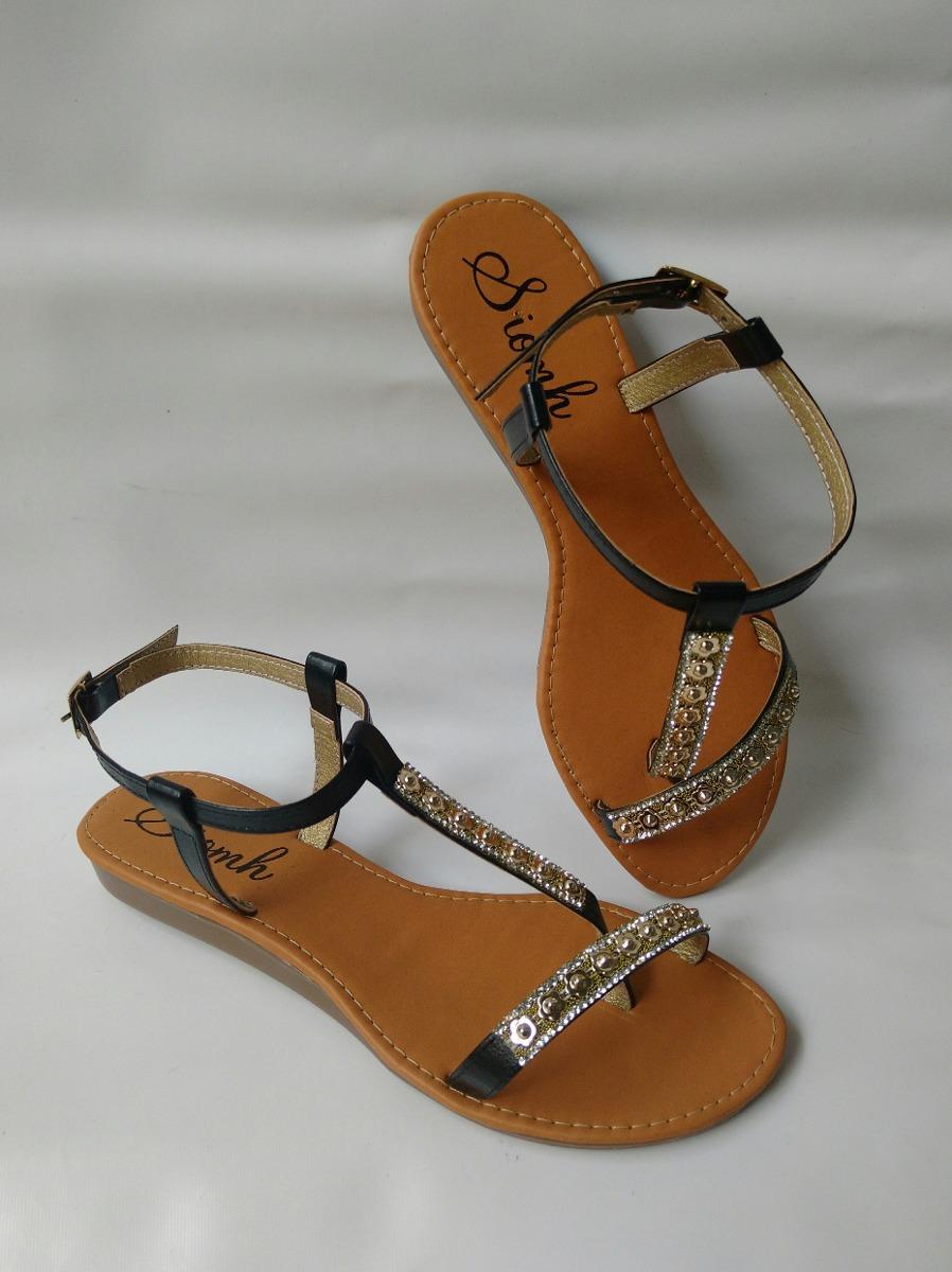 1162e3a408e sandalia bajita dama negra zapatos mujeres moda envio gratis. Cargando zoom.