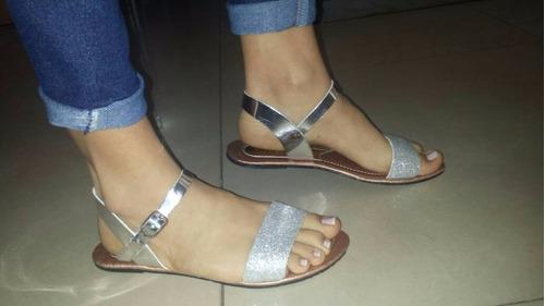 sandalia bajitas blanco moda colombiana para damas
