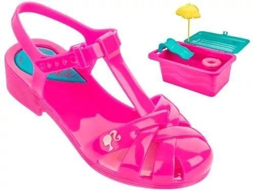 13f84aba2 Sandália Barbie Festa Na Piscina Brinde Com Frete - R$ 120,00 em ...