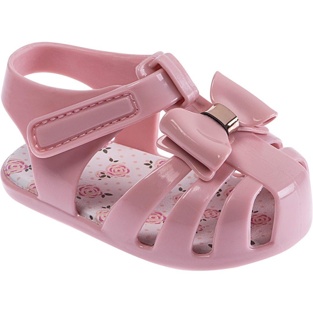 560fd1c60 sandália bebê colore rosa lacinho com aroma pimpolho 18321e. Carregando zoom .