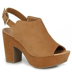 4db4f16f6 Sandalia Meia Pata Bebece Marron - Sapatos com o Melhores Preços no Mercado  Livre Brasil