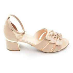 c7f6dc247 Sandália Fechada Na Frente Saltinho - Sapatos com o Melhores Preços ...