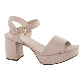 407d411f09 Sandalia Bebece Salto Grosso Nude - Sapatos no Mercado Livre Brasil