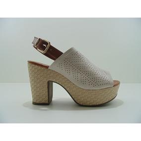 8e90ee1236 Sandalia Bebecê Salto Grosso 5123 725 Bege Nude Snob 2 - Sapatos no ...