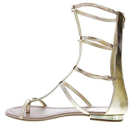 a6a1e8ed3f sandália rasteira gladiadora beira rio 8263421 metal ouro · sandália beira  rio