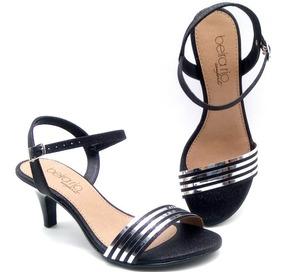 581601882c Sandalia Basica Com Tira Salto Fino - Sapatos com o Melhores Preços no  Mercado Livre Brasil